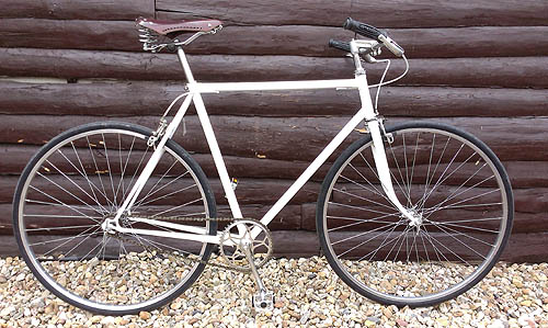 úprava kola favorit na single speed