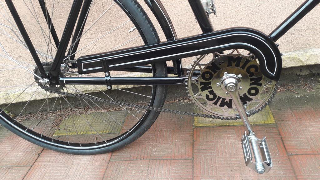 Celková renovace pánského kola mignon 30tá léta