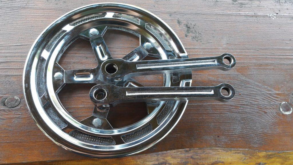 Dvojpřevodník Eska Favorit klinkový, železný 170mm 52-46
