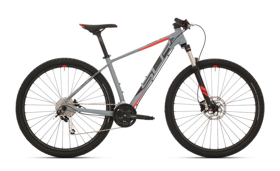 Superior xc-879-matte-grey-black-neon-red